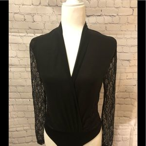 New York and Company Laced BodySuit
